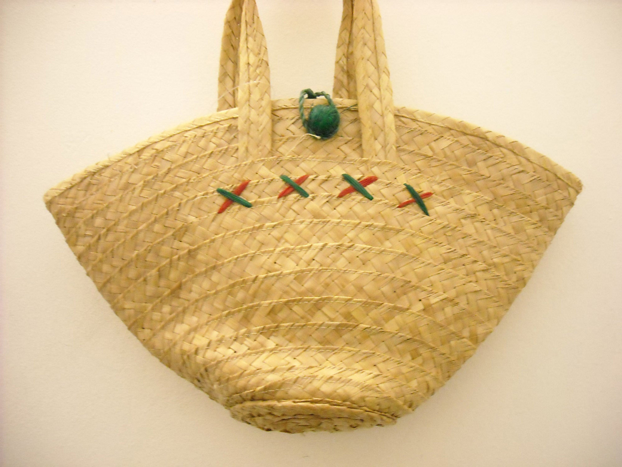 Gone fishing! Vintage bag