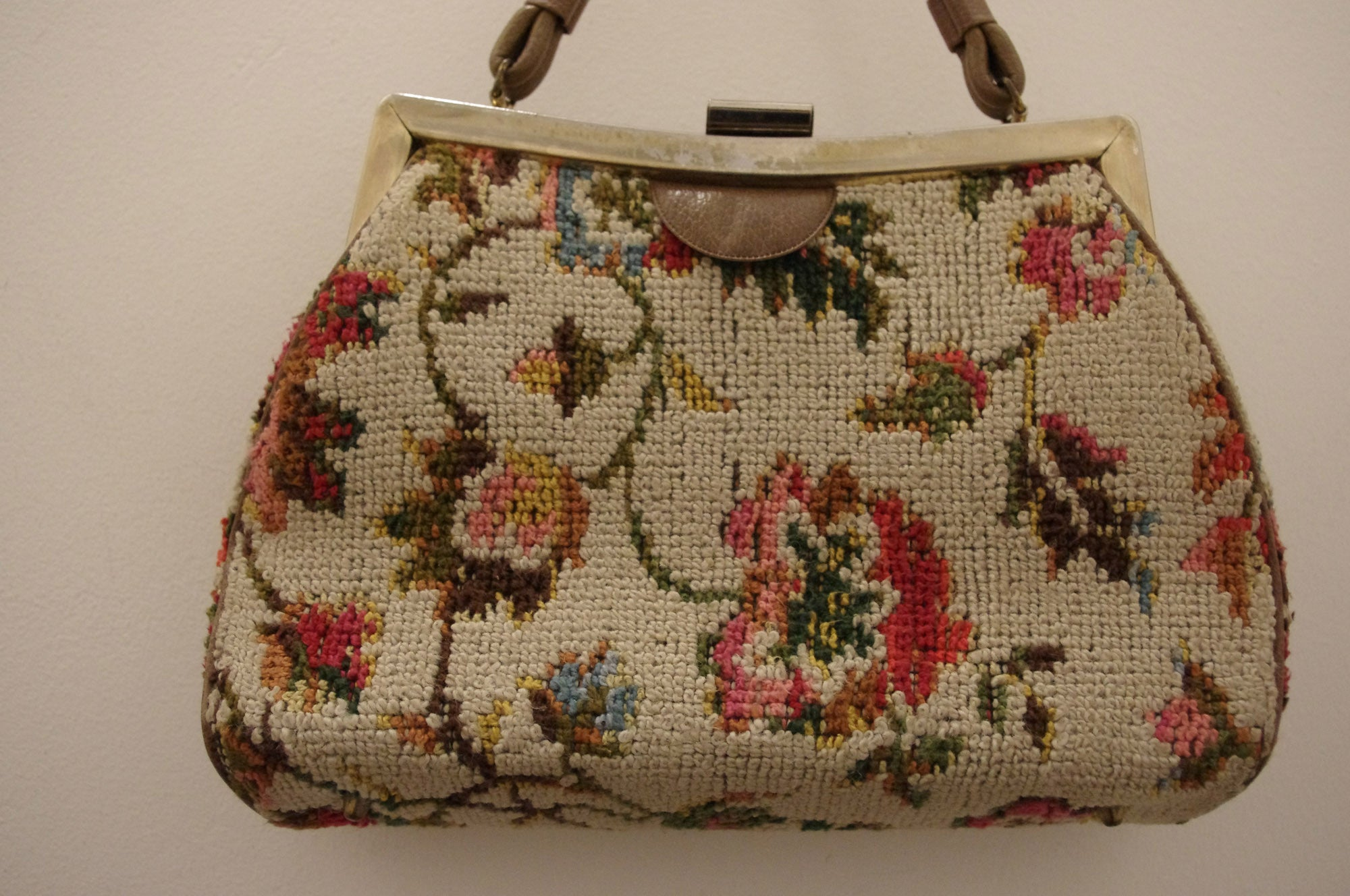 In Love with Tapestry Vintage Bag