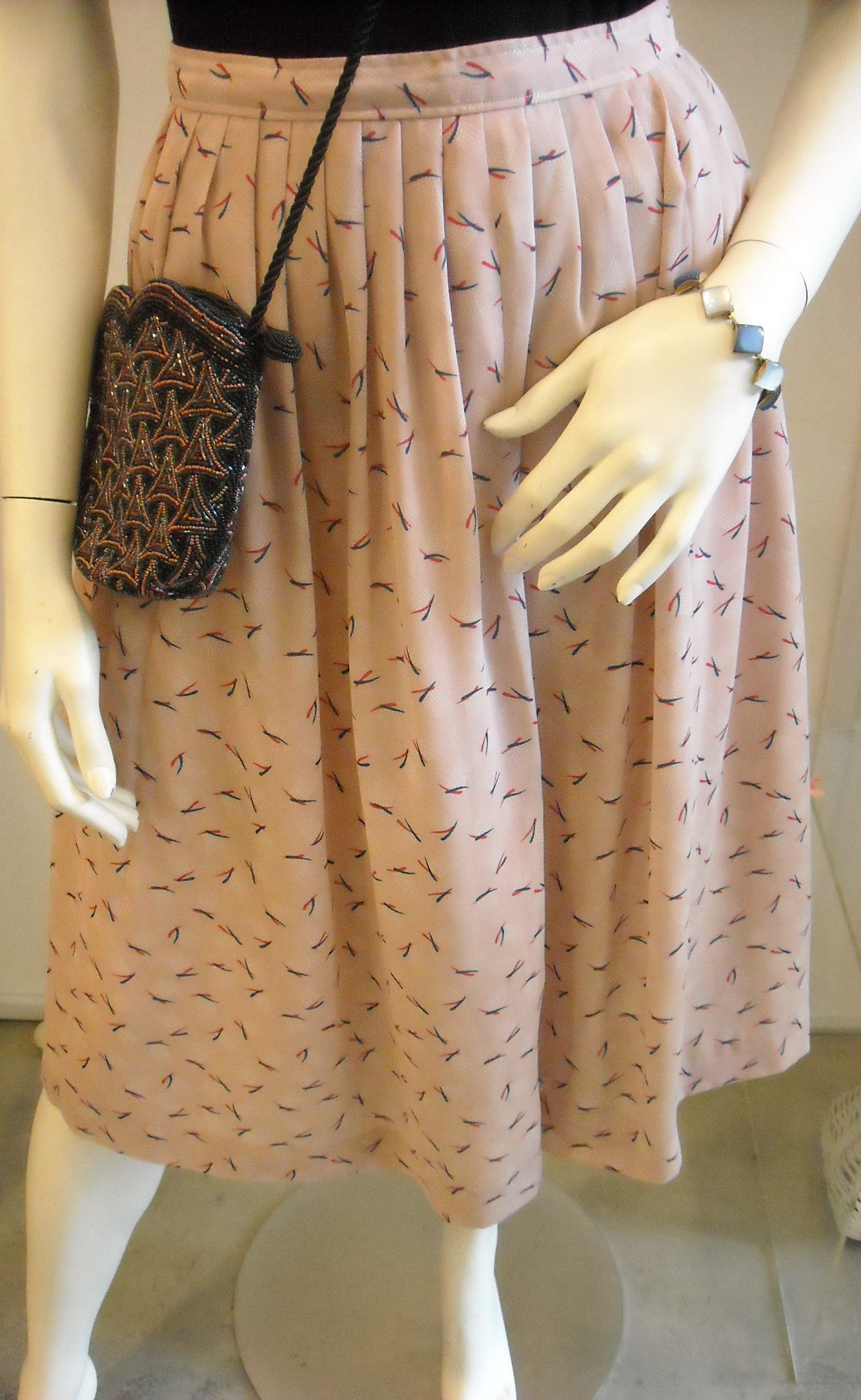 Be My Baby! Pink Vintage Skirt