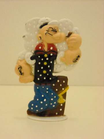 Popeye The Sailorman Vintage Earrings Holder