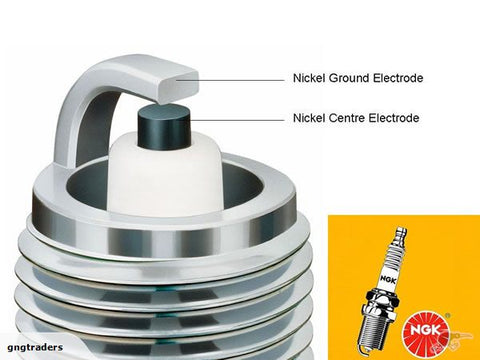 B6HS NGK Spark Plug       -        4510      -     FREE Shipping for 4 + plugs