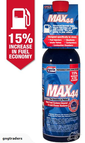 MAX44 TOTAL FUEL SYSTEM CLEANER 473g C44 CYCLO