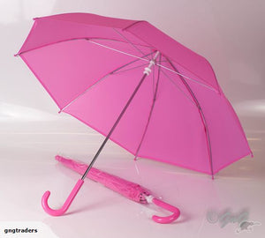 Umbrella EVA Kids Manual up Pink