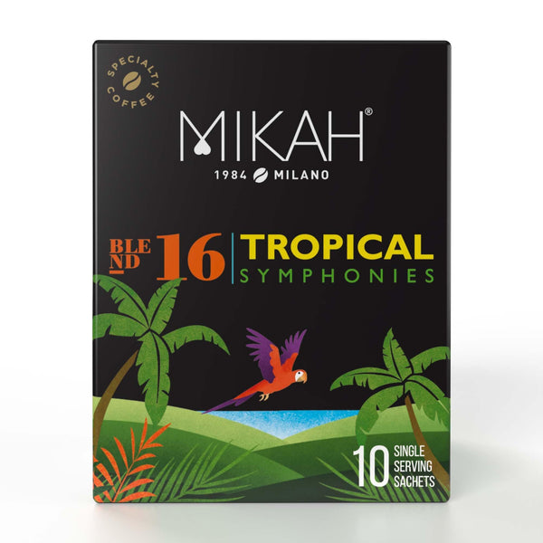 mikah specialty coffee tropical symphonies box