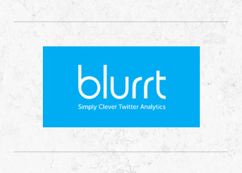 Blurrt Twitter analytics are pioneering