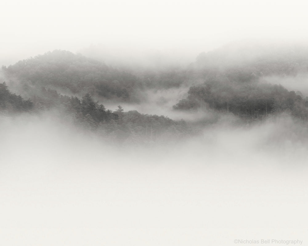 smoky mountains photography, print