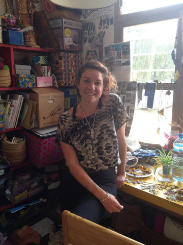 Freia Groves product designer at Neema Crafts
