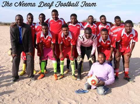 Neema Crafts - Reaching out through football