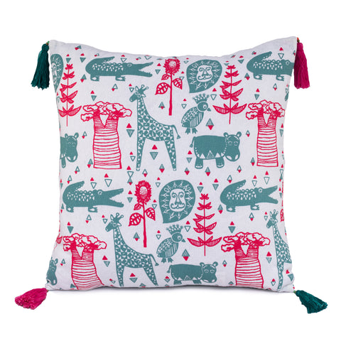Animal Screen Print Cushion