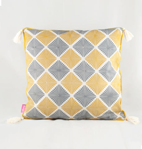 Square Diamond Cushion Cover