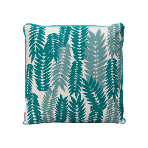 Square Flame Leaf Cushion