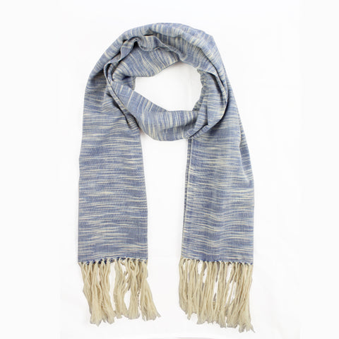 Ikat Woven Scarf/Wrap