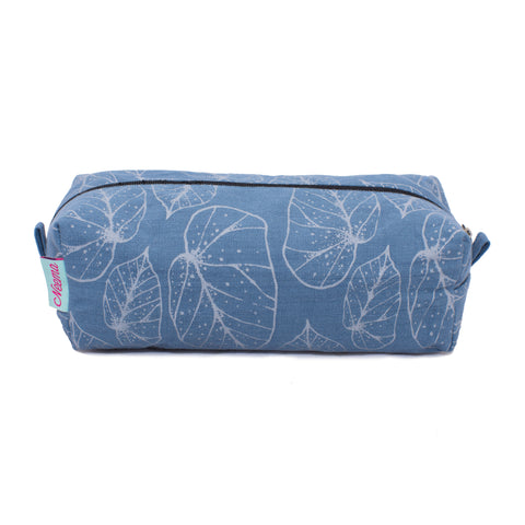 Large Dotty Leaf Makeup Bag