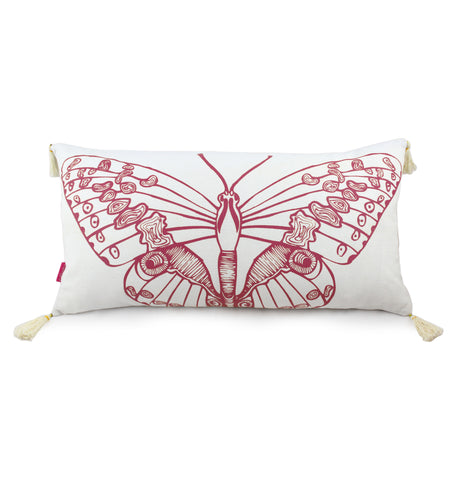 Long Cushion - Butterfly