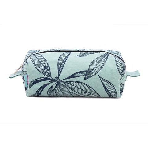 Large Make up Bag - Frangipani