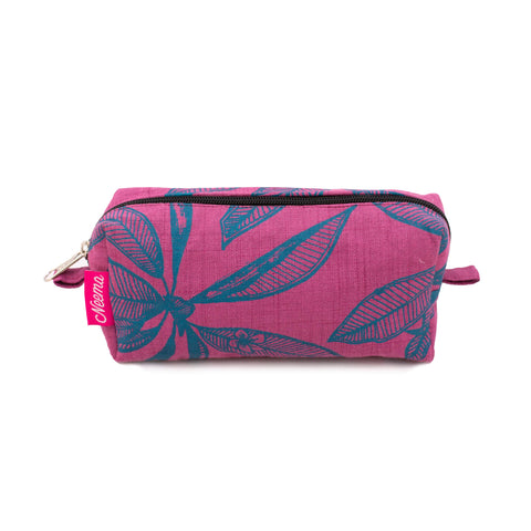 Small Makeup Bag - Frangipani