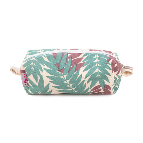 Small Flame Leaf Makeup Bag