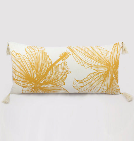 Long Hibiscus Cushion