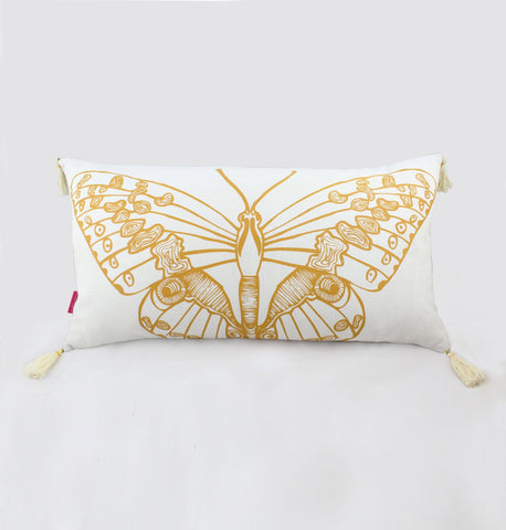 Long Butterfly Cushion Cover