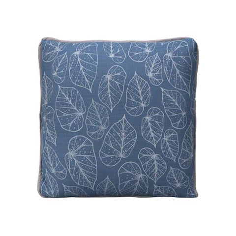 Square Dotty Leaf Cushion