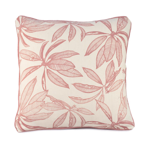 Square Frangipani Cushion