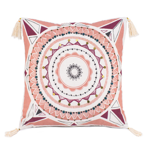 Square Moroccan Cushion Cover
