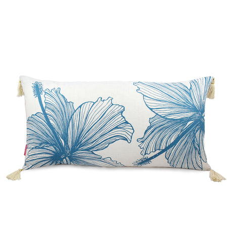 Long Hibiscus Cushion Cover
