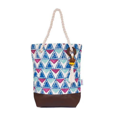 Block Print Tote Bag