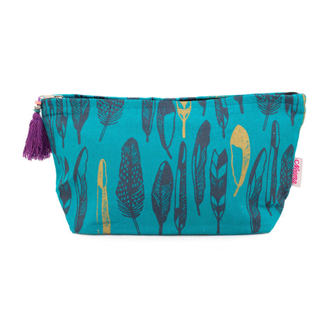 Large Feather Washbag