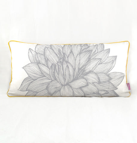Long Flower Cushion Cover