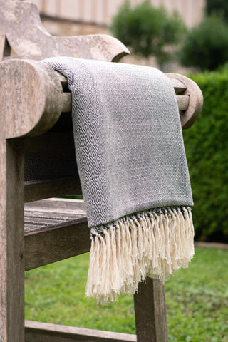Hand Woven throw - Extra