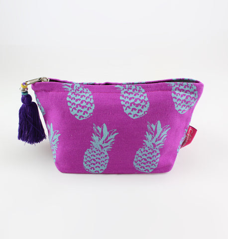 Small Washbag - Pineapple