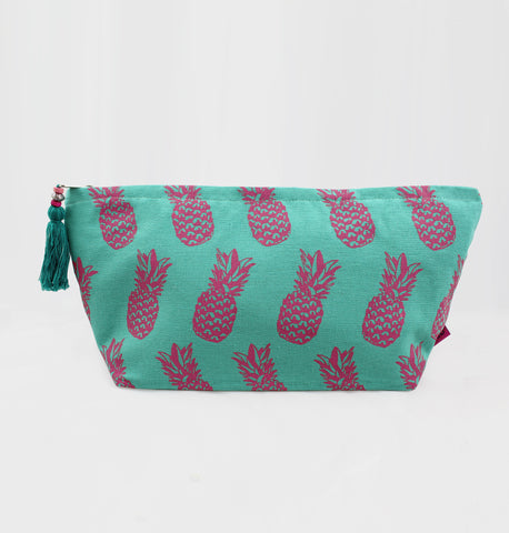 Large Pineapple Washbag