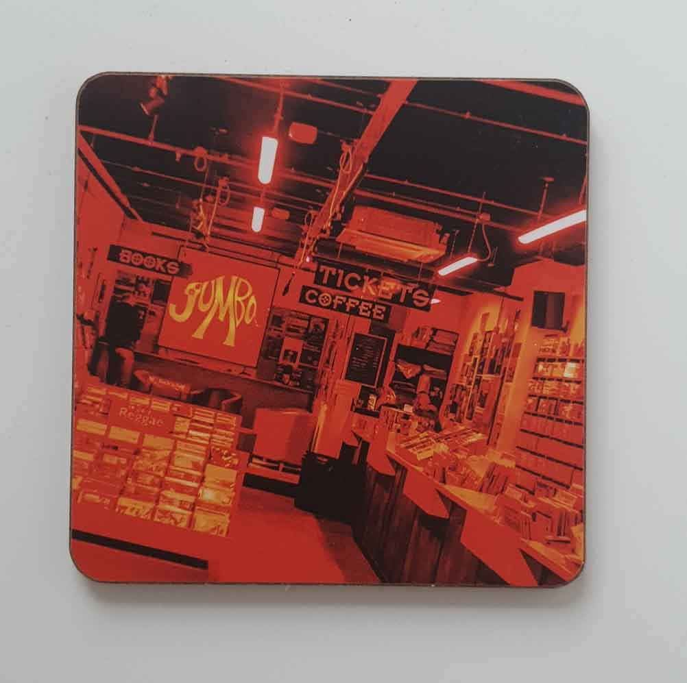 Jumbo Records Coaster