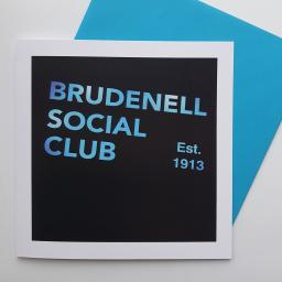 Brudenell Social Club Blue art card