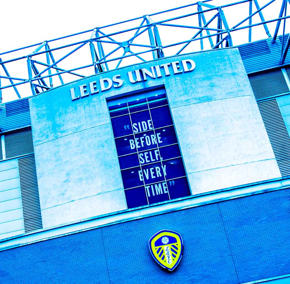 LUFC print - Side Before Self Every Time print