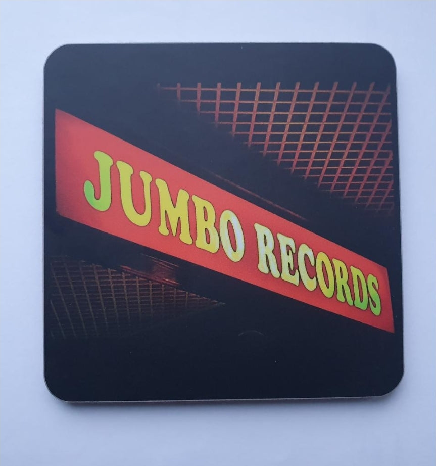 Jumbo Records Black Coaster