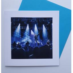 Suede at Leeds 02 Academy art card