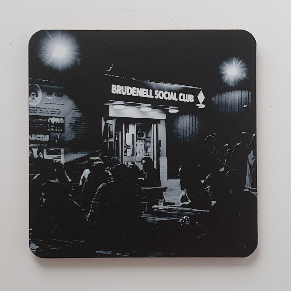 Brudenell Black coaster