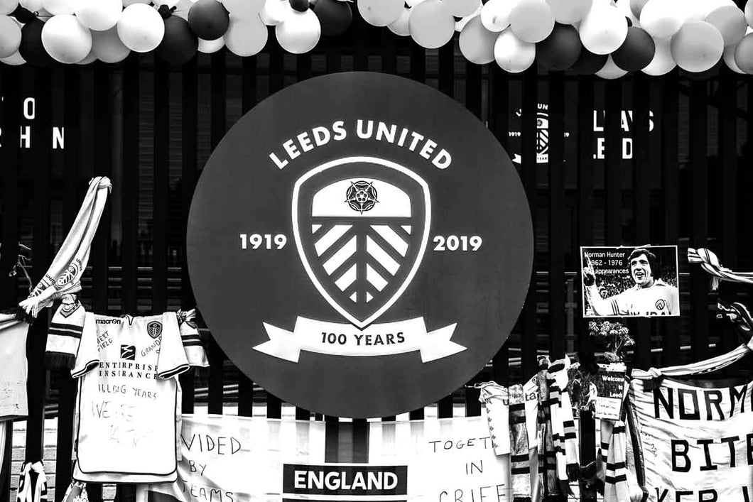 Elland Road - 100 Years Shield