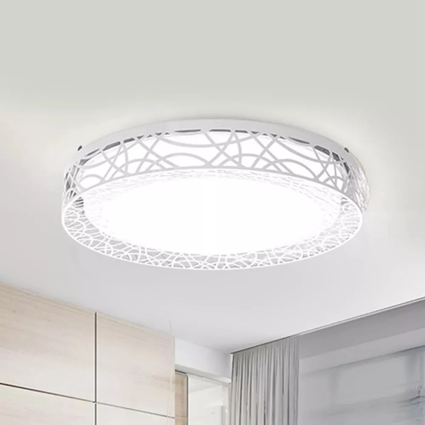 D06Yl 32W 430mm Hollow Design LED Smart Ceiling Light Lamp For Mihome APP Remote Control Night Light