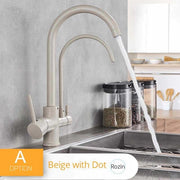 Kitchen Faucets - Pull Out 3 Way Mixer | LumuloxDecor.com