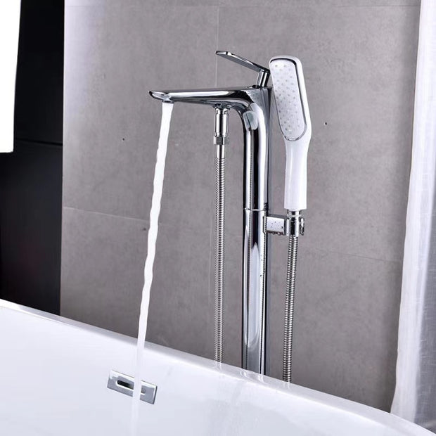 Floor Standing Bathtub Faucets with Hand Shower