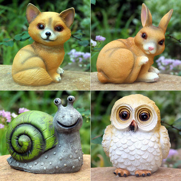 Tiny - Woodland Animals LED Garden Lights
