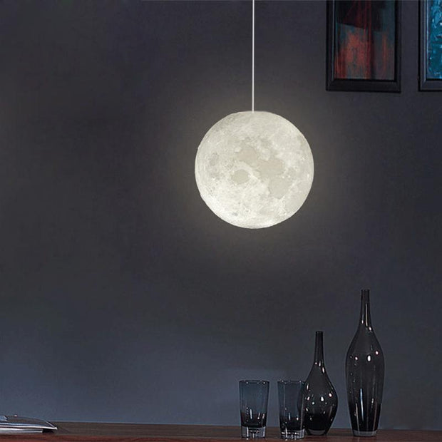 3D Print  Novelty Creative Moon Atmosphere Night Light Lamp