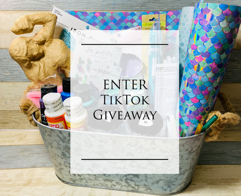 Enter TikTok Mermaid Crafts Giveaway!