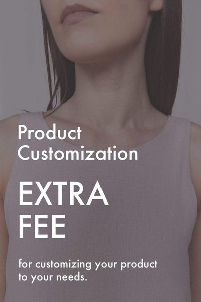 Product Customisation Extra Fee pretty_linen_com