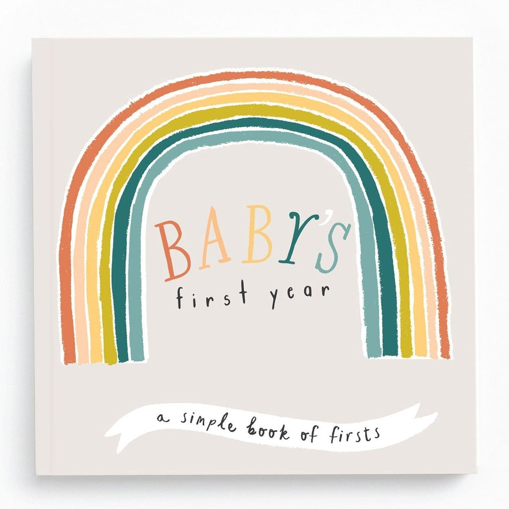 First Year Rainbow Memory Book