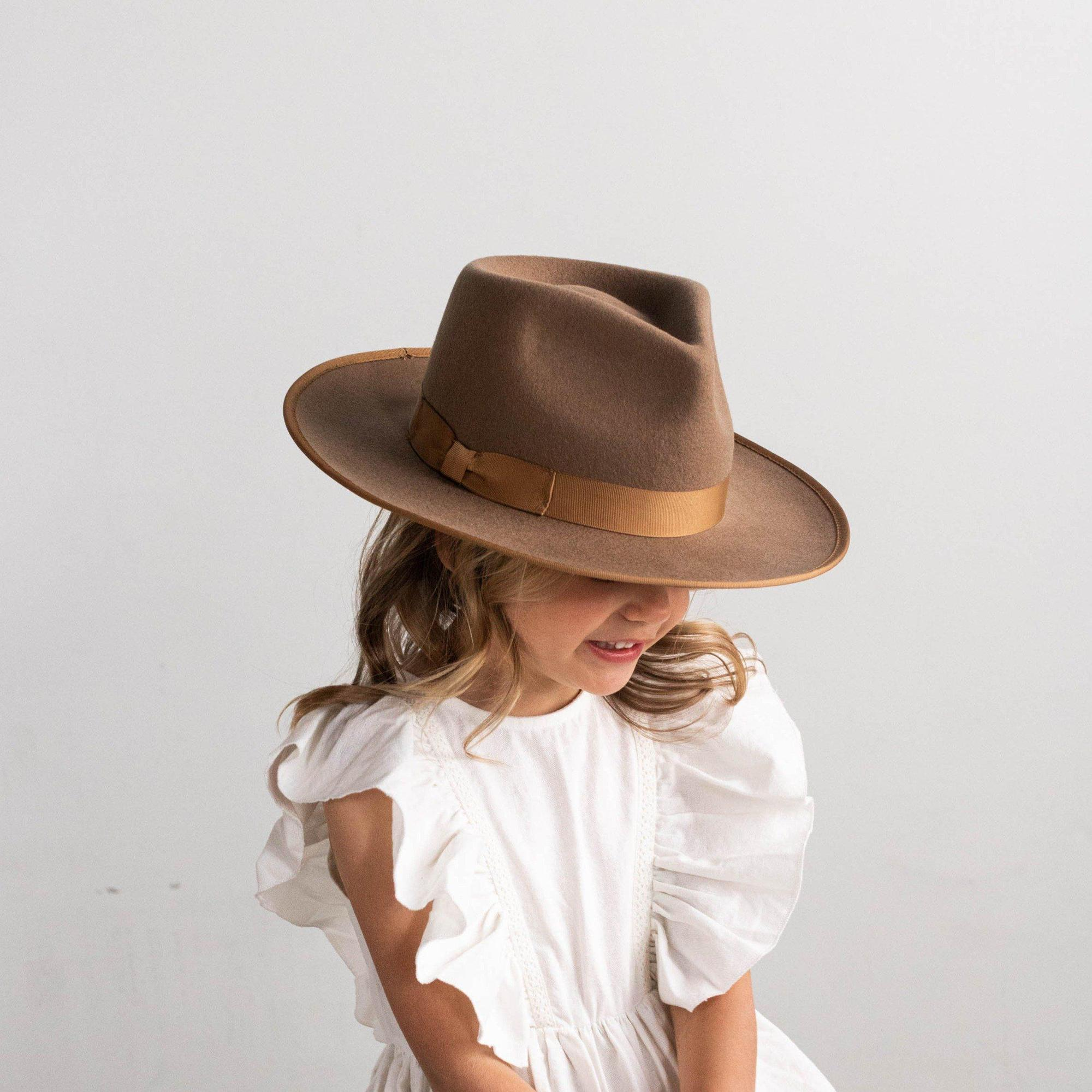 Gigi Pip - KIDS Monroe Rancher // Brown