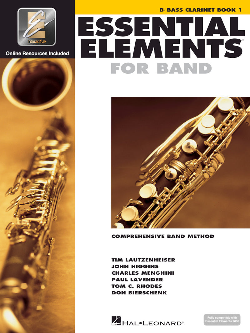 Essential Elements for Band, Bb Bass Clarinet Book 1